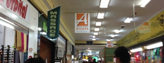 Central Market Arcade is one of Orte, die Dave gefallen.