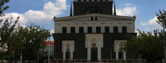 Platz Georgs von Podiebrad is one of StorefrontSticker #4sqCities: Prague.