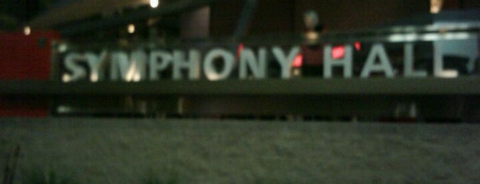 Symphony Hall is one of Phoenix Points of Pride.