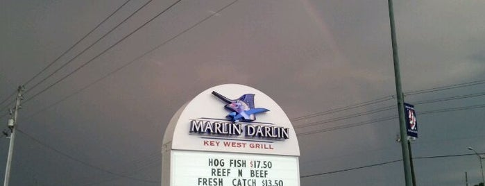 Marlin Darlin Grill is one of St Pete Beaches Feed Your Face Guide.