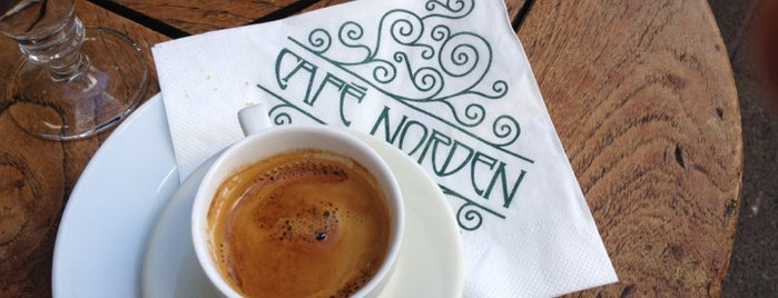 Cafe Norden is one of Locais curtidos por Sotiris T..
