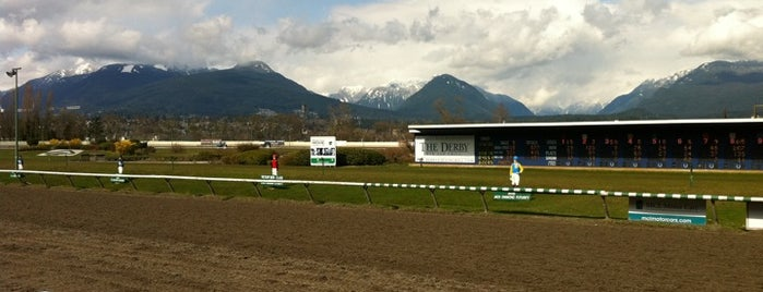 Hastings Racecourse is one of Vancouver in a nutshell.