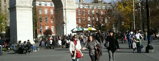 Washington Square Park is one of NYC's Greenwich Village.