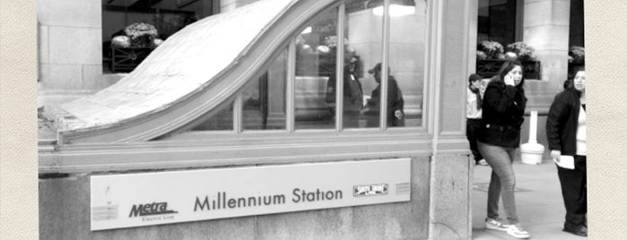Millennium Station is one of Posti che sono piaciuti a Derrick.