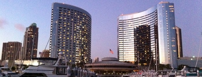 Marriott Marquis San Diego Marina is one of Us. san diego.