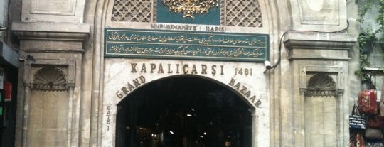 カパルチャルシュ is one of Istanbul Tourist Attractions by GB.