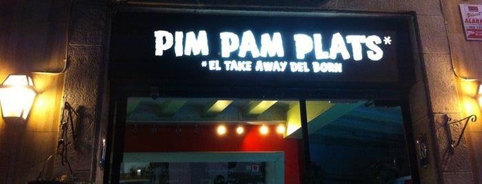Pim Pam Burger is one of Hamburguesas de Barcelona.