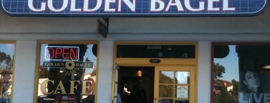 Golden Bagel is one of San Diego.