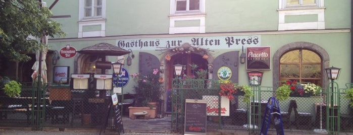 Gasthaus zur Alten Press is one of .at.