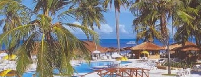 Salinas do Maragogi All Inclusive Resort is one of Orte, die Olga gefallen.