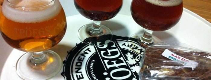 Tröegs Brewing Company is one of Best US Breweries--Brewery Bucket List.