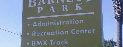 Barnett Park is one of Orlando City Badge - The City Beautiful.