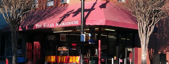The Galax Smokehouse is one of 500 Things to Eat & Where - South.