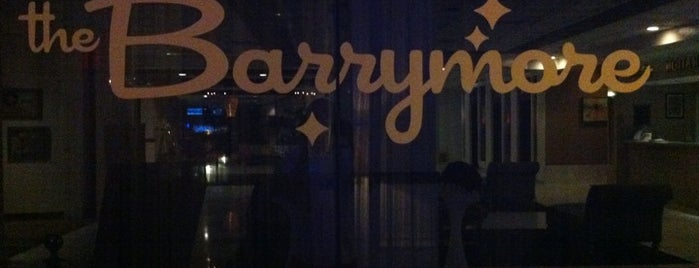 The Barrymore is one of Wine / Drinks.