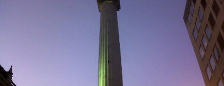 The Monument is one of London.