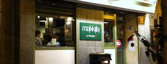 Makkila is one of Para cenar.
