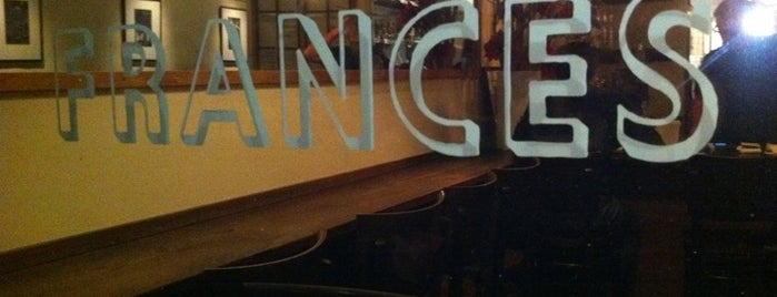 Frances is one of San Francisco Food & Drink.