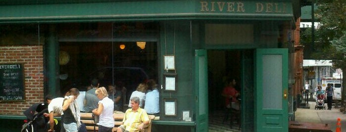 River Deli is one of Italian.