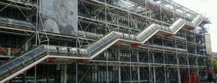 Centre Pompidou – Musée National d'Art Moderne is one of Paris.