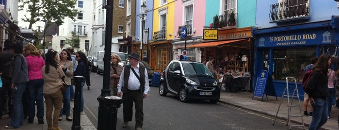 Portobello Road is one of London: To-Go.