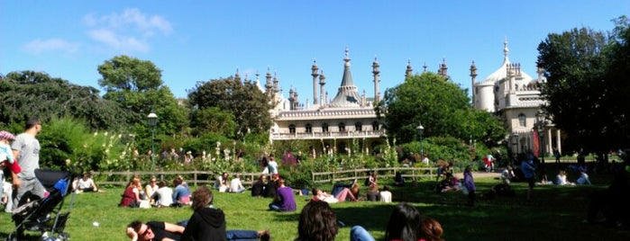 Royal Pavilion Gardens is one of Brighton.