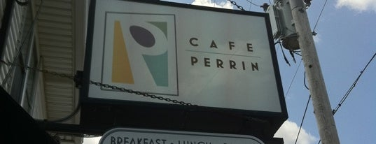 Cafe Perrin is one of Patio Pounders.