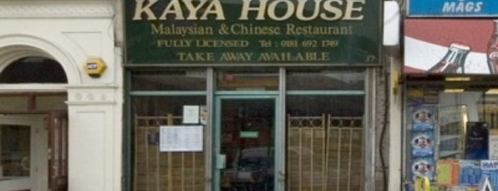 Kaya House is one of Malaysian Restaurants in London.