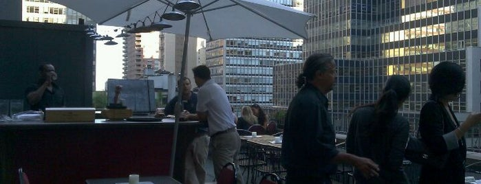 Henry's Roof Top Bar - @RSHotel is one of My Tech Places in NYC and around - done/to-do list.