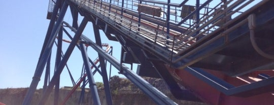 SUPERMAN: Krypton Coaster is one of Kim's Saved Places.