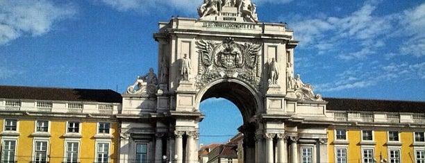 Praça do Comércio (Terreiro do Paço) is one of Lisbon for three (or more) days.