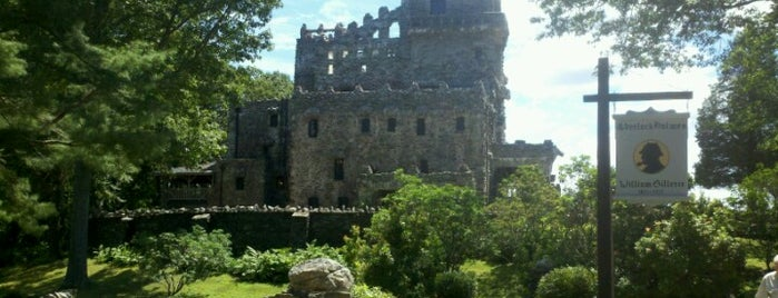 Gillette Castle State Park is one of Favorite Museums.