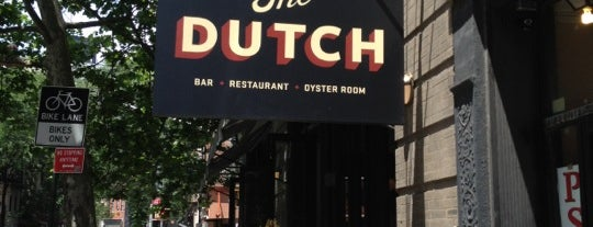 The Dutch is one of NY RESTAURANTS.