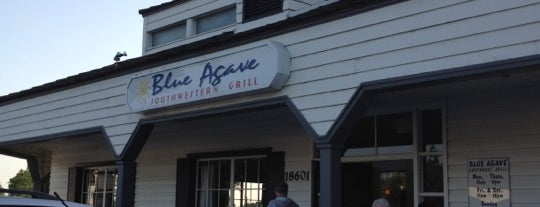 Blue Agave is one of M's Saved Places.
