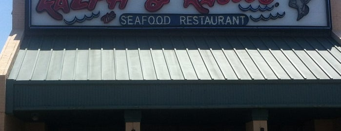 Ralph & Kacoo's Seafood Restaurant is one of Posti che sono piaciuti a Betty.