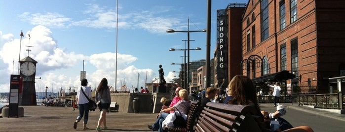 Aker Brygge is one of Oslo City Guide.