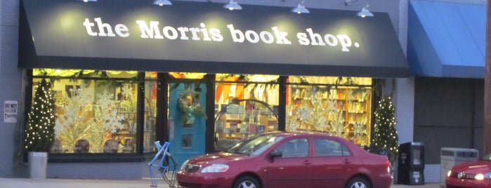the Morris book shop is one of Bookstores We Love.