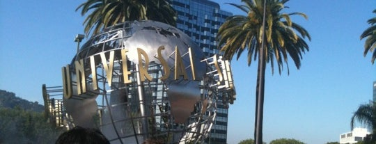 Universal Studios Hollywood Globe and Fountain is one of Los Angeles.