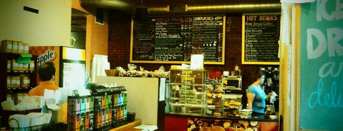 The Daily Grind (aka The Fells Grind) is one of Baltimore's Best Coffee - 2012.