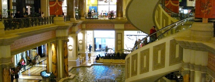 The Forum Shops at Caesars Palace is one of Vegas.