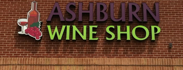 Ashburn Wine Shop is one of Sergio 님이 좋아한 장소.