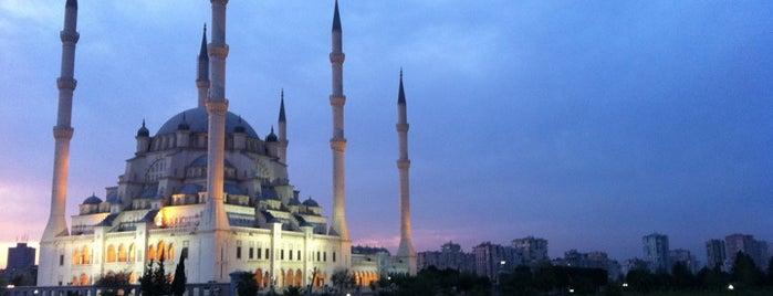 Sabancı Merkez Camii is one of Bir Gezginin Seyir Defteri.