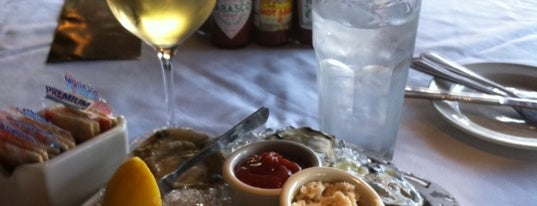 Landry's Seafood House is one of Where to eat and drink downtown.