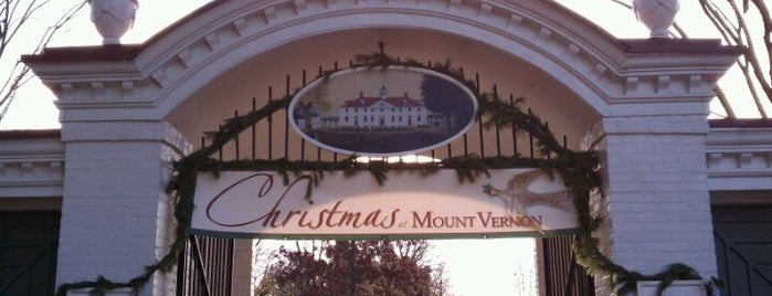 George Washington's Mount Vernon is one of Places I've been.