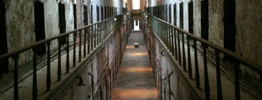 Eastern State Penitentiary is one of Badge of Brotherly Love #visitUS.
