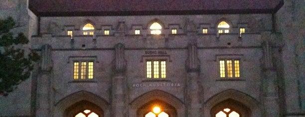 Budig Hall / Hoch Auditoria is one of Jayhawk Journey.
