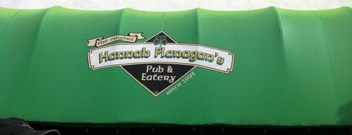 Hannah Flanagans Pub is one of Locais curtidos por Debbie.