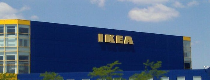 IKEA is one of Chicago, IL.