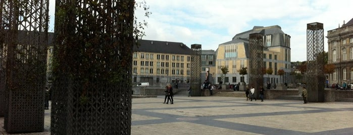 "Place Saint-Lambert is one of Belgium's ""unmissable"" culture spots."