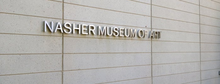 Nasher Museum of Art is one of Tempat yang Disukai Roger.