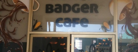 Honey Badger Café is one of 626 Young, Wild, and Free.